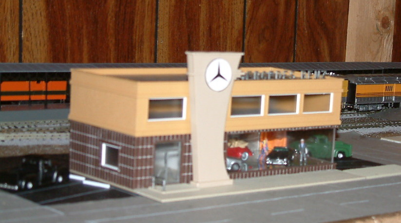 Mercedes Dealership Picture 2